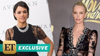 EXCLUSIVE: Michelle Rodriguez Says Charlize Theron in \