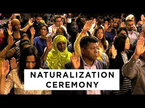 City Of Columbus Ohio Naturalization Ceremony 7/25/19