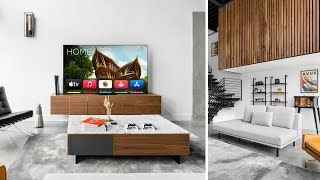 ULTIMATE Modern Living Room Theater Tour 2021!