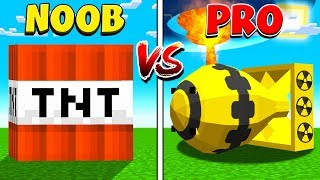 MINECRAFT NOOB vs PRO BIGGEST EXPLOSION!