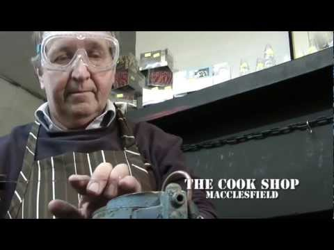 Small Business Films - Knife Sharpening  Service - The Cook Shop Macclesfield