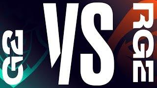 G2 vs. RGE - Week 7 Day 1   LEC Spring Split   G2 Esports vs. Rogue (2019)