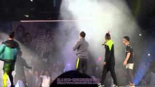 20131110-歲月友情演唱會合唱極速(鄭伊健主唱.謝天華,陳小春,林曉峰,錢嘉樂伴唱)