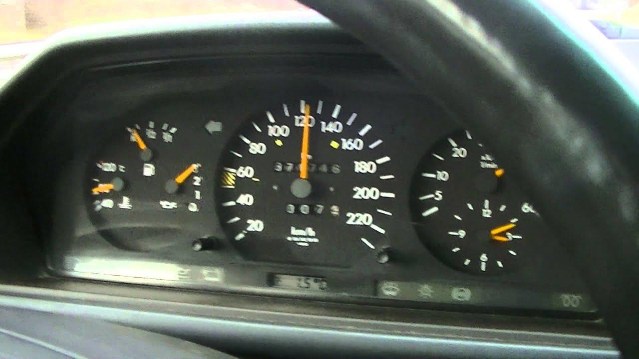mercedes w124 300d turbodiesel - fahreigenschaften - youtube