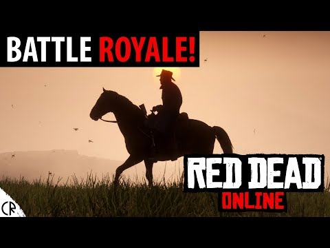 Battle Royale Gameplay - Red Dead Redemption 2 - RDR2 - Online thumbnail
