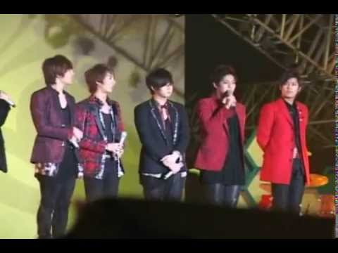 [Fancam] SS501 Interview at Incheon Korean Wave Festival 091025