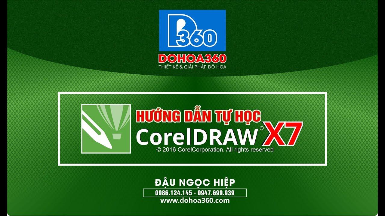 Bài 25. Thiết kế biển hộp đèn trên CorelDRAW X7 | Học CorelDRAW