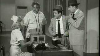 "Abbott & Costello - ""Crazy House"" sketch with Hillary Brooke and Murray Leonard"