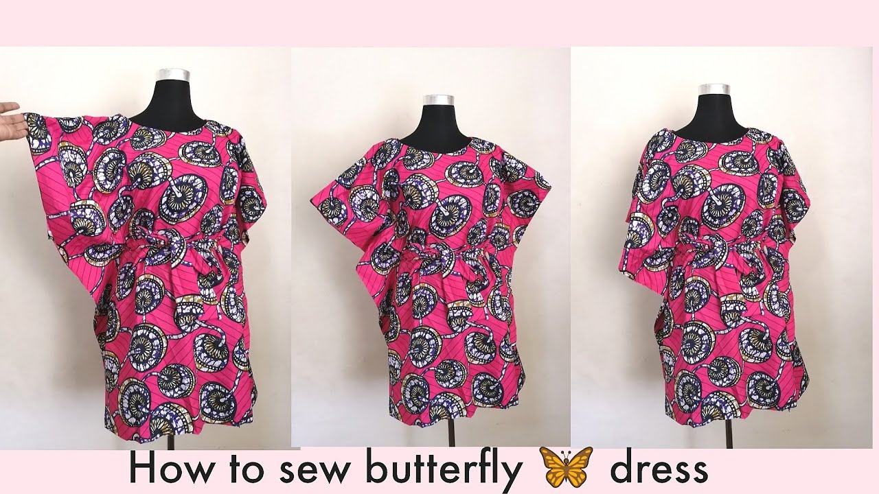 Download How to Sew a Kaftan Butterfly Dress/Top