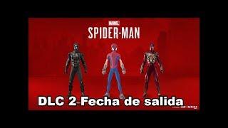 DLC 2 Spider-Man PS4 Fecha De salida Y Nuevos Atuendos