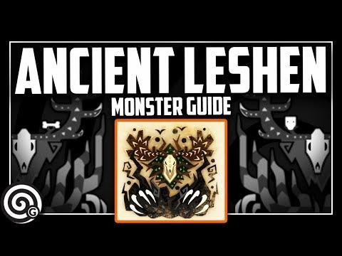 MONSTER GUIDE - Ancient Leshen   Monster Hunter World
