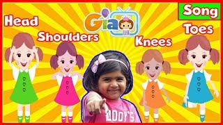 Head Shoulder Knee and Toes Workout Song For Kids Nursery Rhymes