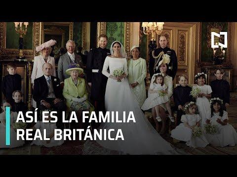 Así es la Familia Real británica
