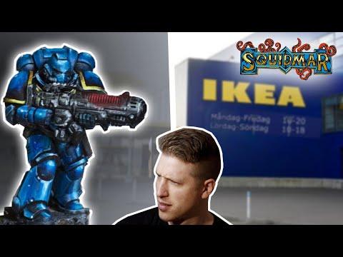 IKEA chapter SPACE MARINE - Warhammer vs $6 Paint Set
