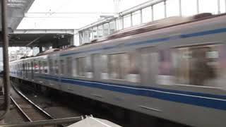 西武6050系6157F「Fライナー」元住吉駅高速通過!