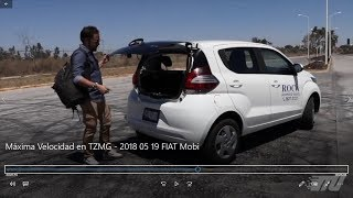 FIAT Mobi 2018 Prueba de manejo a #MáximaVelocidad