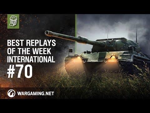 World of Tanks - Best Replays of the Week International #70