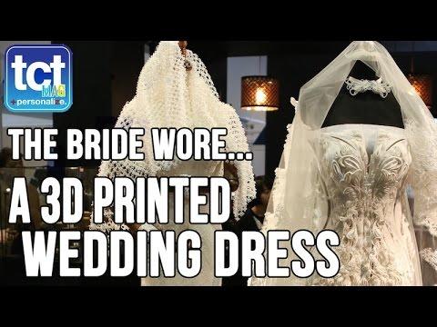 Xuberance talks 3D printed wedding dress at TCT Asia