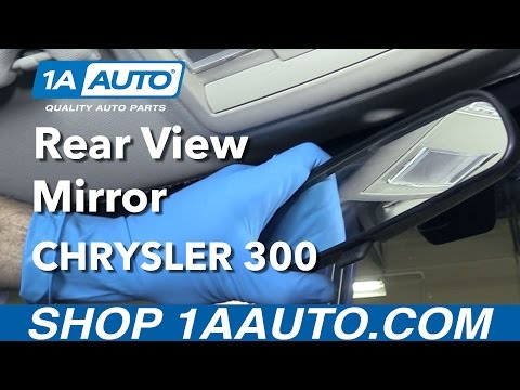 How to Install Replace Rear View Mirror 2005-10 Chrysler 300 Buy Auto Parts at 1AAuto.com