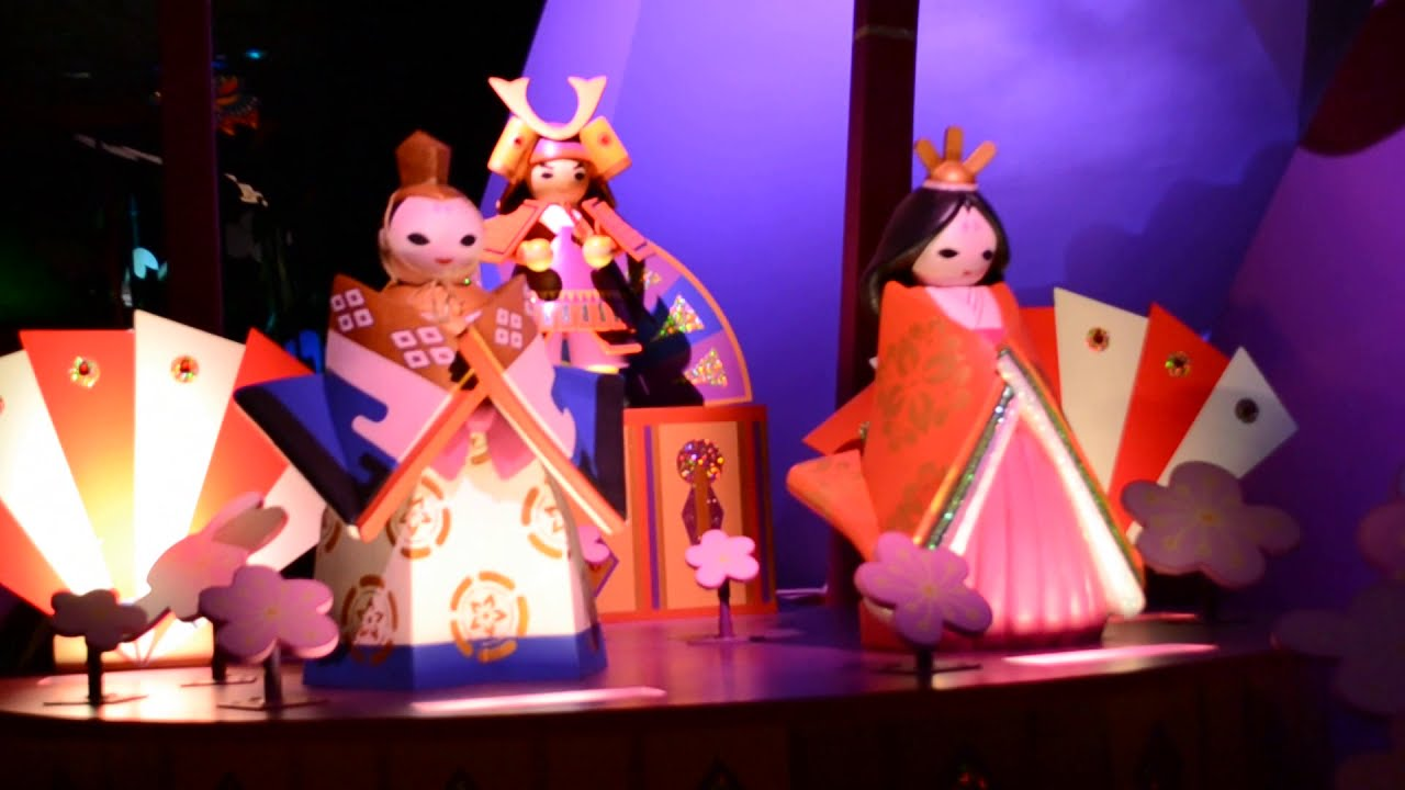 Disneyland HongKong Small World Family Tour