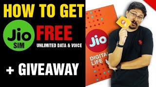 How to get JIO sim any mobile | Speed test | Surprise Giveaway