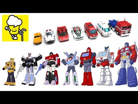 Transformer G1 Optimus Prime Bumblebee Ratchet Prowl Ironhide Sideswipeトランスフォーマー 變形金剛 Masterpiece