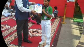 Performance of the students of R.C.S.Memorial public School in Drawing competition at Dwarka sec -13