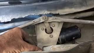 Polo vw démontage moteur essuie glace
