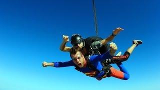 Mój skok spadochronowy w Sky Dive Dubai, BANG! :)
