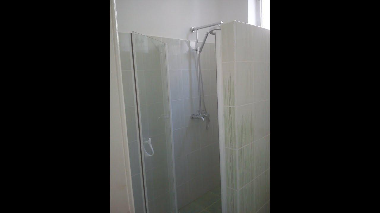Épített zuhanyzó - Fürdőszoba felújítás - YouTube