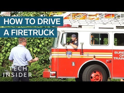 How Hard It Is To Drive A Firetruck