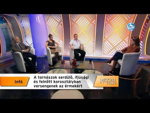 DIGI Sport Reggeli Start - Rózsa Csilla Prof Dr Hamar Pál és Vereckei István