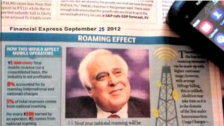National roaming to be free from 2013_ Kapil Sibal