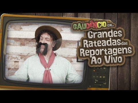 Gaudêncio - GRANDES RATEADAS DAS REPORTAGENS AO VIVO | Cris Pereira