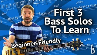 3 Easy Bass Solos To Get Started (Even If You've Never Taken A Bass Solo)