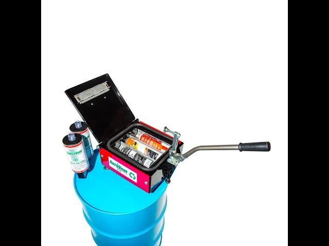 AeroVent 3X Aerosol Can Disposal System
