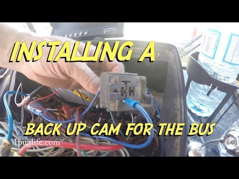 wireless backup camera for the bus