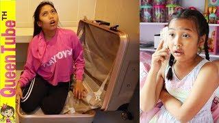 กระเป๋าเดินทาง (ที่ไม่) วิเศษ ละครสั้น น้องควีน Feat. ใยบัว ใยไหม Fun Family   Magic Travel Luggage