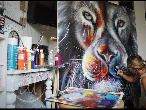 Laurie marois artiste peintre 2016 youtube for Artiste peintre poitiers