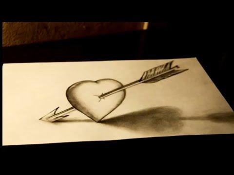 Comment Dessiner Un Coeur En 3d