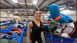 Gopro in the Goodwill Outlet bins!! | Raw clips see what we got for eBay resell!