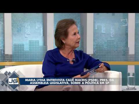 Maria Lydia entrevista Cauê Macris, pres. da Assembleia Legislativa, sobre a política em SP