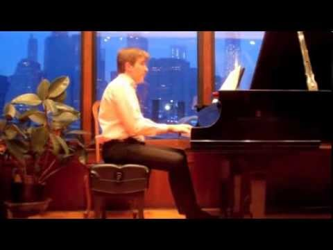 Peri Mauer A LITTLE NEW YEAR'S FLAIR, for piano [2013]