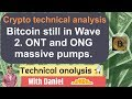 Bitcoin Technical Analysis. BTC ranges. ONG pumps on Binance.