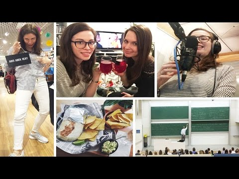 FMW: Mein ALLTAG, MODERIEREN im RADIO, COCKTAIL-Bar FAIL, FOOD Haul, UNI-Prüfung | FMA-Vlog
