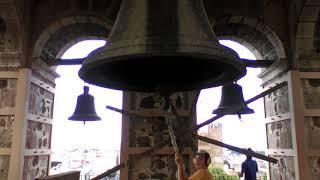 Repique en la Catedral de Guadalajara Torre Norte por el día de La Asunción de La Virgen María