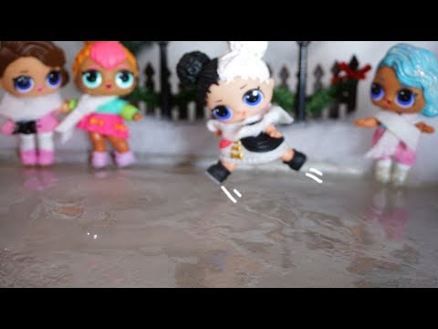 LOL SURPRISE DOLLS Go Ice Skating, Night Routine & BOWLING With The New Series LOL SURPRISE DOLLS!