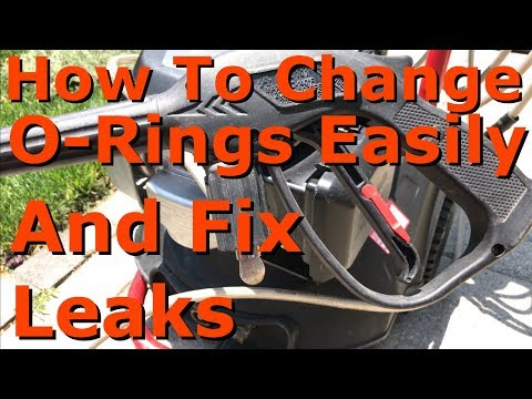 Fix Pressure Washer Leak | Replace O-Rings