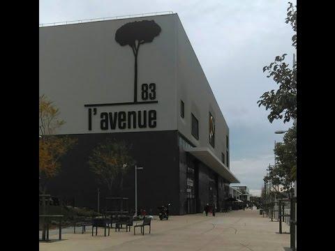 avenue 83 centre commercial toulon la valette reportage youtube. Black Bedroom Furniture Sets. Home Design Ideas