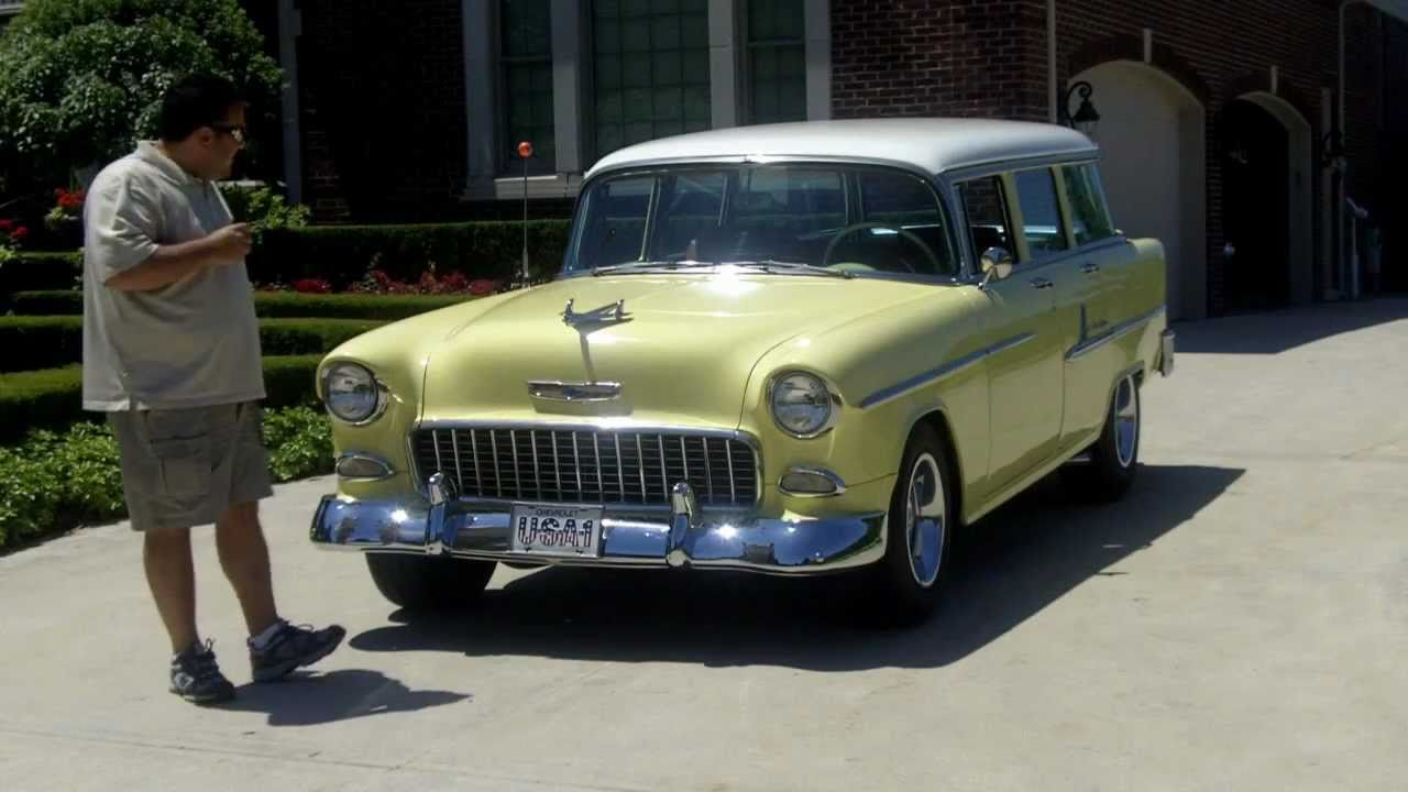 All Chevy 55 chevy for sale : 1955 Chevy Bel Air Wagon Classic Muscle Car for Sale in MI ...